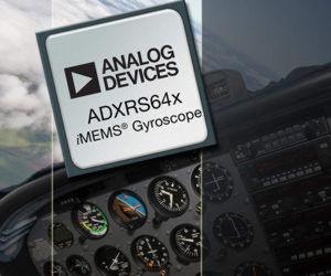 ADXRS64x von Analog Devices: Der Drehratensensor auf MEMS-Basis lässt sich leichter kompensieren