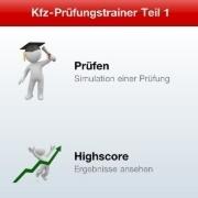 """Mit der App """"Kfz-Prüfungstrainer"""" können Azubis vor der Gesellenprüfung ihr Wissen überprüfen."""