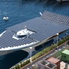 Synchronmotoren treiben Solarkatamaran an