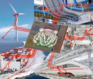 Tiger-Chip für schnelle und effiziente Industrievernetzung