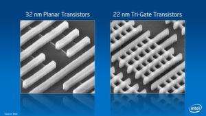 Fünf Dinge, die man über Intels 3-D-Tri-Gate-Transistor wissen sollte