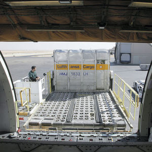 Auch Lufthansa Cargo arbeitet an dem Forschungsprojekt für intelligente Luftfrachtcontainer mit. Bild: Lufthansa Cargo
