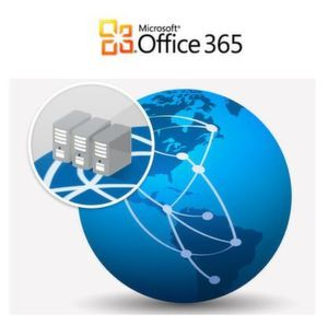 Microsoft Office 365: von jedem Ort nutzbare vorkonfigurierte Bürosoftware mit Kollaboration-Funktionen als Service mit monatlicher Abrechnung.