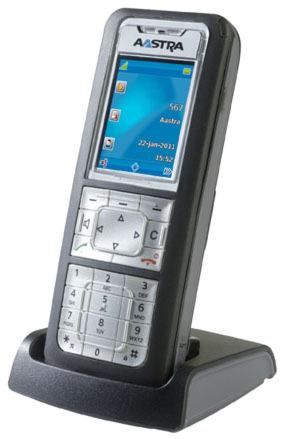 Das DECT-Telefon Aastra 630d bietet Farbdisplay, Bluetooth, USB-Anschluss und eine flexibel einstellbare Bedienoberfläche.