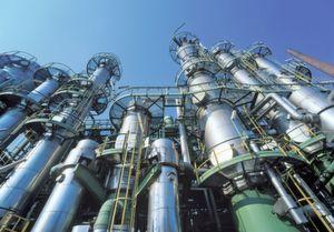 Evonik Industries will 2013 in China eine neue Isophoronanlage in Betrieb nehmen (im Bild: Anlage in Herne). (Evonik Industries)