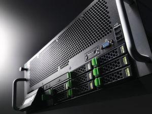 SAP-validiert: Fujitsu Primergy Rack Server RX600; Bild: Fujitsu