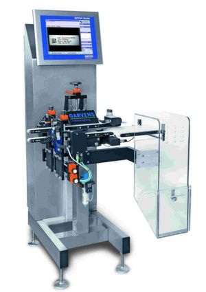 The new compact pharmaceutical serialisation unit XMV (Mark and Vision) by Mettler Toledo. (Picture: Metler Toledo)