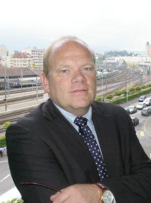 Jean-Luc Mossier, directeur de la Promotion économique du canton de Fribourg. (Image: JR Gonthier/MSM)