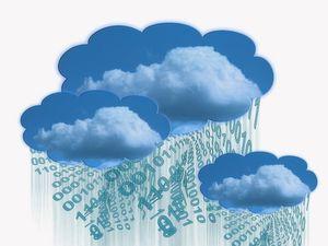 Sicherheit in der Wolke: Immer mehr Anwendungen wandern auf Serverfarmen, die weltweit in der Cloud verteilt sind (Bild: Gerd Altmann, pixelio.de)
