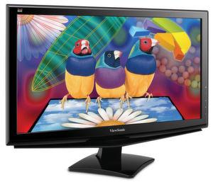 Zwei der drei Low-Buget-LED-Displays von Viewsonic liefern Full-HD-Auflösung.