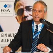 """EGA-Vorsitzender Thorsten Cordes: """"Wir sind mit unserer Vision durch ganz Deutschland gefahren, aber viele Türen blieben verschlossen."""" Das hat sich nach zehn Jahren kontinuierlicher Weiterentwicklung des Handels- und Servicesystems gewandelt."""