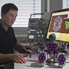 Platinen ermöglichen sensible Haut für Roboter