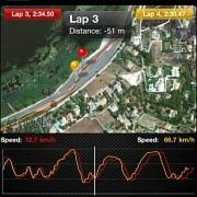 Pirelli: Datarecording per iPhone