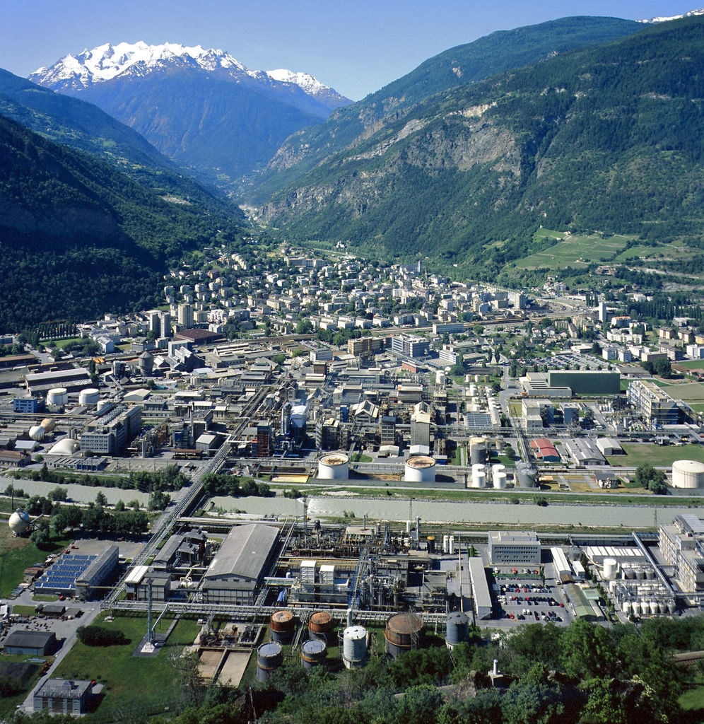 Visp Switzerland  city photos gallery : Construction of the formulation plant in Visp, Switzerland, will ...