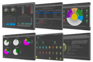 Klare Strukturen in der Oberfläche der 7.0-Version von the Guard! sollen die Analyse vereinfachen. Bild: Realtech