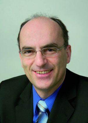 """Dr. Konrad Kern, Produktmanager für RFID, Pepperl+Fuchs: """"Mit über 20 Jahren RFID-Erfahrung bieten wir alle Systemkomponenten aus einer Hand, umfassendes Applikations-Know-how und stehen für höchste Funktionalität und Sicherheit."""""""