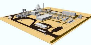 Schematische Darstellung der Energy-from-waste-Anlage (Bild: Air Products)