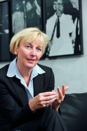 Sabine Bendiek, Geschäftsführerin EMC Deutschland