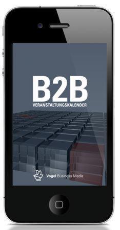 Ab sofort ist der B2B-Veranstaltungskalender der Vogel Business Media für diverse Mobilgeräte verfügbar.