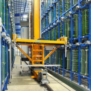 Das neue Lager bei BIA umfasst 396 Stellplätze für Ladungsträger mit bis zu fünf Galvanogestellen pro Warenfenster. Bild: BSS Bohnenberg