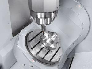 Auch beim Vertikal-Bearbeitungszentrum sorgen Hochleistungsspindeln mit Drehzahlen zwischen 12000 bis 60000 1/min dafür, dass die NMV-Baureihe bei allen Werkstoffen perfekte Arbeit leistet. (Bild: Mori Seiki)