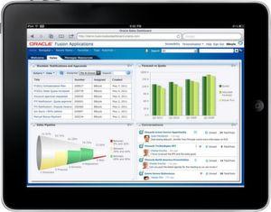 Oracle bietet die Module der Fusion Applications auch als Cloud-Services an.