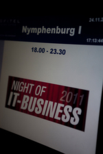 Willkommen zur Night of IT-BUSINESS 2011