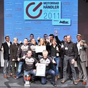 Harley-Factory Frankfurt ist Motorradhändler des Jahres 2011