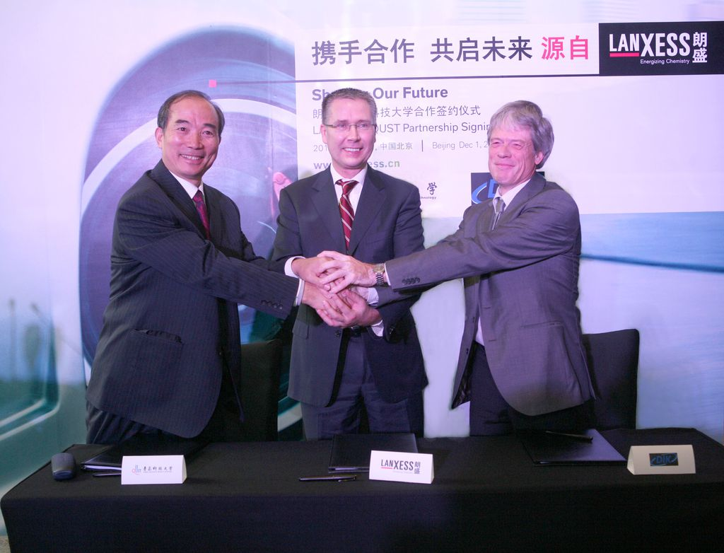 On the sidelines of the Rubber Day, Lanxess and the University of Qingdao are set to sign an agreement to extend their partnership with a view to supporting particularly talented students.