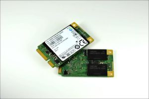 Samsungs mSATA-SSDs sind als Hauptspeicher mit Kapazitten von 64, 128 und 256 Gigabyte zu haben.