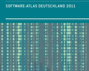 Liefert wichtige Daten zur Verteilung der Software-Industrie in Deutschland: Software Atlas Deuschland 2011 (Foto: Software-Cluster)