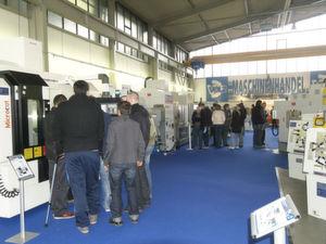 Auf der Hausmesse zeigte das Werkzeugmaschinenhandelsunternehmen Volz sein gesamtes Spektrum. (Bild: Volz)