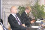 Tom Gensicke, Capgemini, und Jochen Michels, Fujitsu Technology Solutions