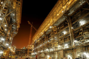 The Pearl GTL plant in Qatar is the world's largestgas-to-liquids facility and an engine of growth for a number of Shell products including chemicals (Picture: Shell)