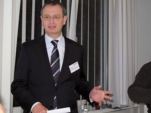 """Dr. Wilfried Schäfer, Geschäftsführer des VDW: """"Die wirtschaftliche Lage für die Werkzeugmaschinenbranche in Europa und im größten Markt Deutschland ist derzeit sehr gut."""" (Bild: Kroh)"""