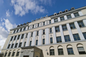 Die Knorr-Bremse AG in München: Fassade der Hauptverwaltung.