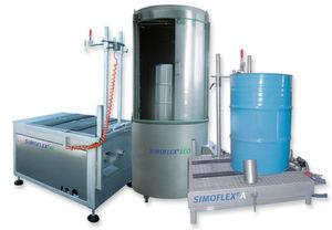 Die mobilen Simoflex Reinigungsanlagen von Bolz Intec entfernen Verunreinigungen in Fässern und Behältern. (Bild: Bolz Intec)