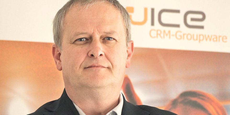 """Wice-Geschäftsführer Jürgen Schüssler sieht sich in """"einem europaweiten Konfliktfeld""""."""