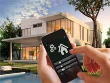 """Gebäudesteuerung per iPhone mit Bluetooth 4.0. <em id=""""ForP_D12E53BC-D18D-A6CF-550EC7070FFE91D1"""">Bilder: m2m</em>"""
