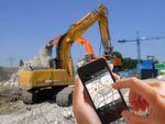 Asset Tracking auf dem Bau auch per iPhone möglich.