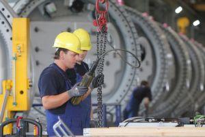 Die deutschen Maschinenbauer haben im November 2011 weniger Aufträge erhalten als ein Jahr zuvor. (Bild: Nordex)