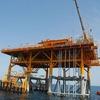Energiehauptverteilung auf unbemannter Ölplattform