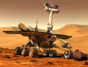 Marsrover Opportunity. (Bild: NASA/JPL-Caltech)