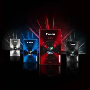 In knalligen Farben präsentieren sich auch die Ixus-500-HS-Modelle.