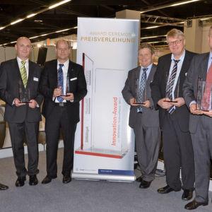 Glückliche Gesichter bei der Verleihung des Innovation Award 2011. (Bild: PROCESS)