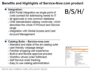 Nils Burmester, BSH-Projektleiter, hat die Vorteile von Service Now zusammengefasst. Für ihn stehen die Funktionen im Vordergrund. Dass es sich um ein SaaS-Angebot handelt, nimmt er lediglich als Voraussetzung dafür wahr. (Bild: BSH Bosch und Siemens Hausgeräte)