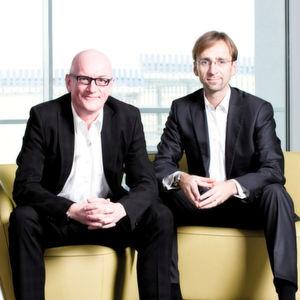 Lars Landwehrkamp und Stefan Land, Vorstände der All for One Midmarket