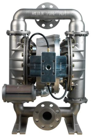 Wilden's High Pressure H800 AODD pumps are well suited for applications in the metal plating and finishing industry. (Picture: Wilden)