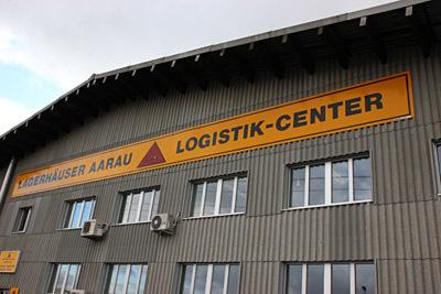 Zu Gast in der Schweiz: Lagerhäuser Aarau gehört zu den großen Logistikdienstleistern zwischen Bern und Comer