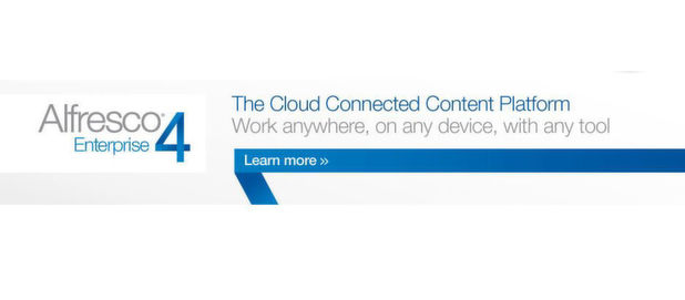 Enterprise Content Management künftig auch in der Cloud, oder via DropBox - mit Alfresco Enterprise 4.